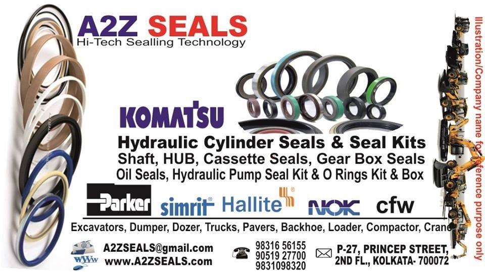 Komatsu Seal Kits | Komatsu Oil Seals - A2zseals - Seal & Seal Kit